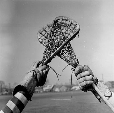 1950 Photograph - Game In Play by Orlando