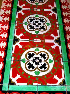 Mazatlan Photograph - Gandarva Tiles, Mazatlan by Mexicolors Art Photography