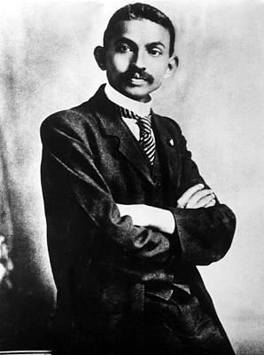 Mahatma Gandhi Photograph - Gandhi As A Barrister, October 2, 1906 by Everett