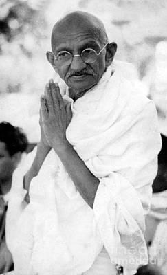 Mahatma Gandhi Photograph - Gandhi by Indian School