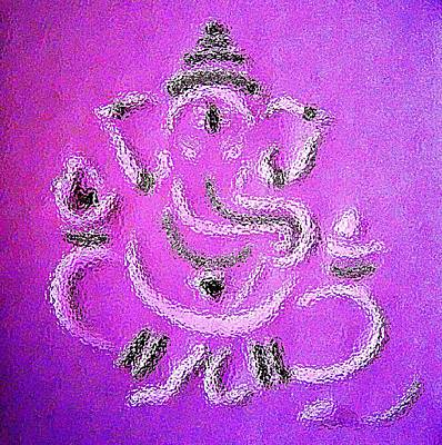 Goan Artists Mixed Media - Ganesha by Piety Dsilva