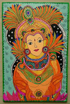 Kerala art paintings for sale for Asha mural painting