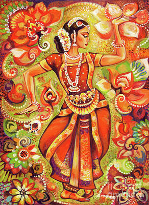 Dancer Painting - Ganges Flower by Eva Campbell