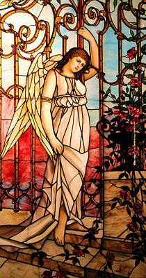 Garden Angel Print by Kristin Elmquist