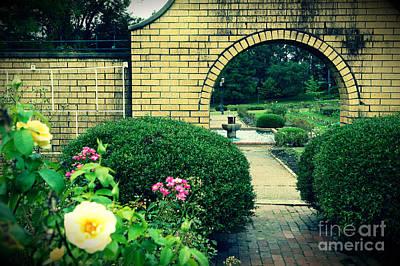 Appleton Photograph - Garden Archway by Alyson Appleton