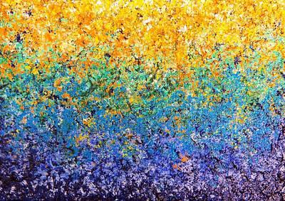 Garden Bloom Original by Rachel Bingaman