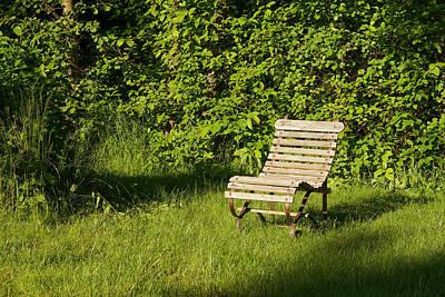 Garden Chair Print by Lutz Baar