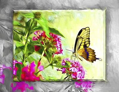 Florida Flowers Digital Art - Garden Of Love by Carolyn Marshall