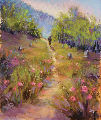Garden Of Stone Original by Susan Jenkins