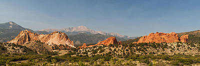 Camel Photograph - Garden Of The Gods by Brian Harig