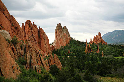 Tourism Photograph - Garden Of The Gods Geology by Marilyn Hunt