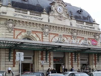 Architecture Photograph - Gare De Nice by Margaret Brooks