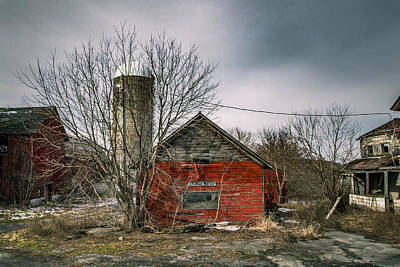 Abandoned Photograph - Garlock Farms by George Patterson