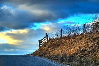 Photograph - Gate At The Crest by Julie Dant