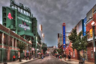 Prudential Center Photograph - Gate E - Fenway Park Boston by Joann Vitali