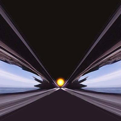 Interstellar Speed Gate Print by Daniel Furon