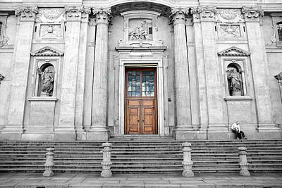 Old Milano Photograph - Gate To Heaven by Valentino Visentini