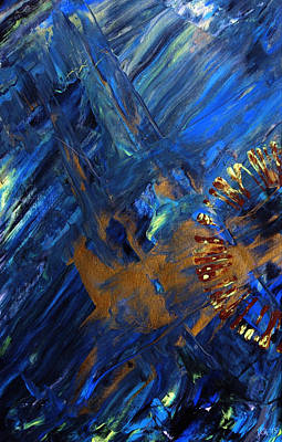 Double Image Painting - Gateway To Chaos 1 by Lori Kingston