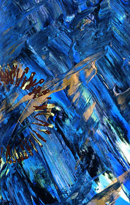 Double Image Painting - Gateway To Chaos 2 by Lori Kingston