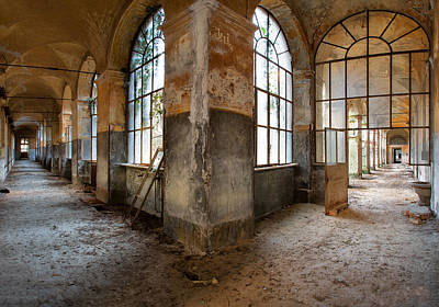 Dirk Photograph - Gateway To Sanity - Abandoned Building by Dirk Ercken