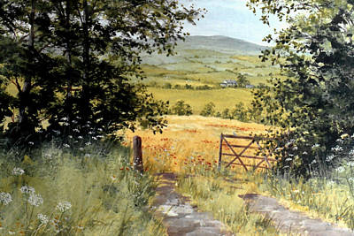 Gateway To The Vale Print by Stuart Parnell