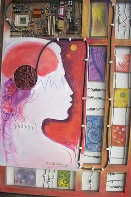 Gateways Of Consciousness Print by Leon Salako