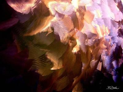 Gathering Storm Clouds Print by Barbara Drake