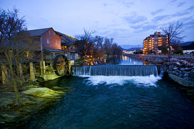 Gatlinburg Tennessee Digital Art - Gatlinburg Mill by Paul Bartoszek