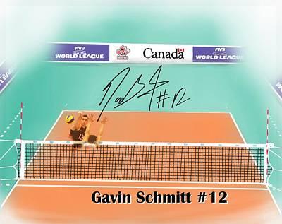 Gavin Schmitt Print by Darren Cannell