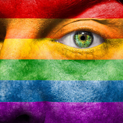 Bisexual Photograph - Gay Pride by Semmick Photo