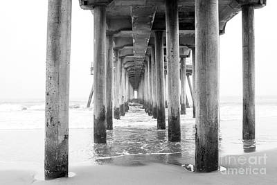 Gazing Into The Pier Print by Ruth Jolly
