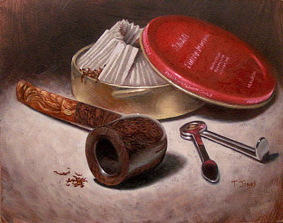 Manly Painting - Gbd Topaz by Timothy Jones