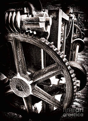 Gearology  Print by Olivier Le Queinec
