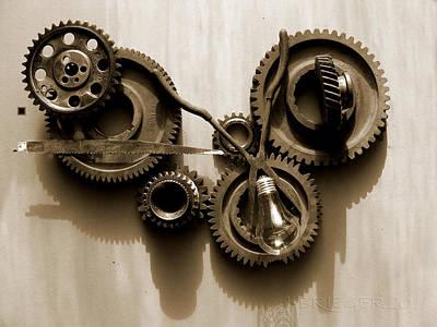 Gears Iv Original by Jan Brieger-Scranton