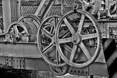 Gear Photograph - Gears by William Wetmore