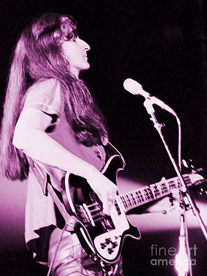 Geddy Photograph - Geddy 1980 by Daniel Larsen