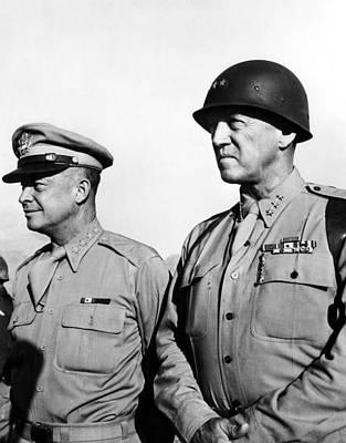 Ev-in Photograph - General Dwight Eisenhower, General by Everett