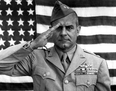 General James Doolittle Saluting Print by War Is Hell Store