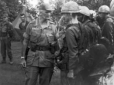 1960s Photograph - General Westmoreland by Underwood Archives