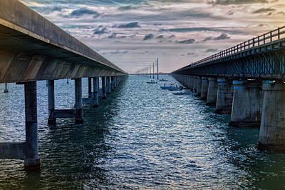 Keys Photograph - Generations Of Bridges by John M Bailey