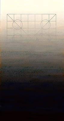 Modern Digital Art Digital Art Painting - Genesis Day Seven   Rest by Francois Domain