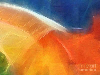 Abstract Digital Painting - Genesis I by Lutz Baar