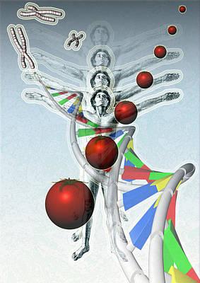 Manipulation Photograph - Genetic Modification by Hans-ulrich Osterwalder