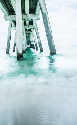 Navarre Beach Photograph - Gentle Waves by Shelby  Young