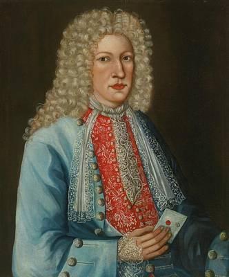 Elaborate Painting - Gentleman In An Elaborate Waistcoat by MotionAge Designs