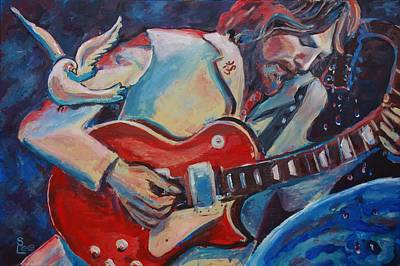 'gently Weeps' Original by Shannon Lee