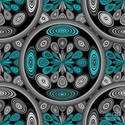Tessellation Digital Art - Geometric Arabesque by Gaspar Avila