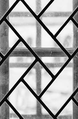 Geometric Glasswork Print by Christi Kraft