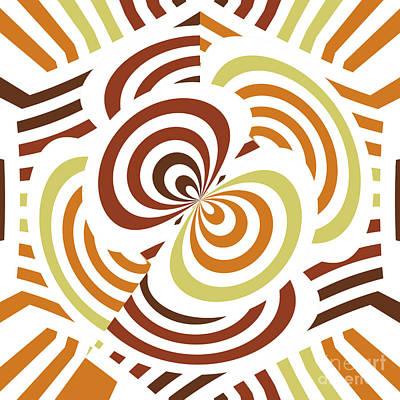 Geometric Infinity Print by Gaspar Avila