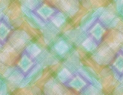 Geometric Pattern Print by Gina Lee Manley